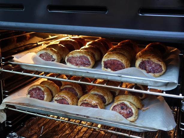 Truffle Farm sausage rolls