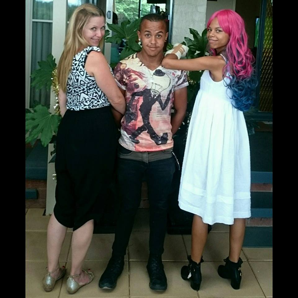 Ericka, Lucas and Tinasha