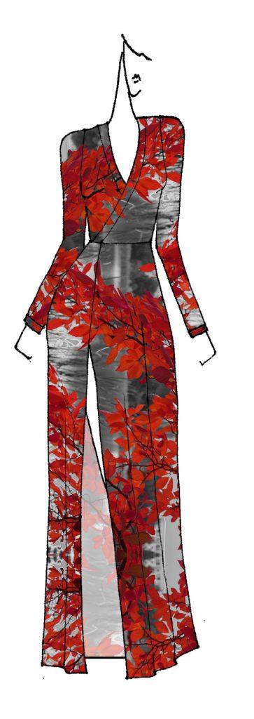 ZILPAH TART Cross front maxi dress - can be sleeveless.
