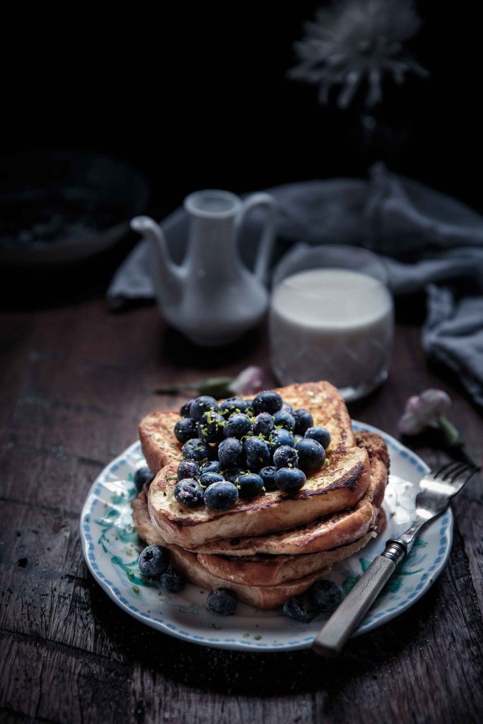 frangelico-french-toast-with-blueberries-and-vanilla-bean-creme-fraiche-anisa-sabet-the-macadames-9-6