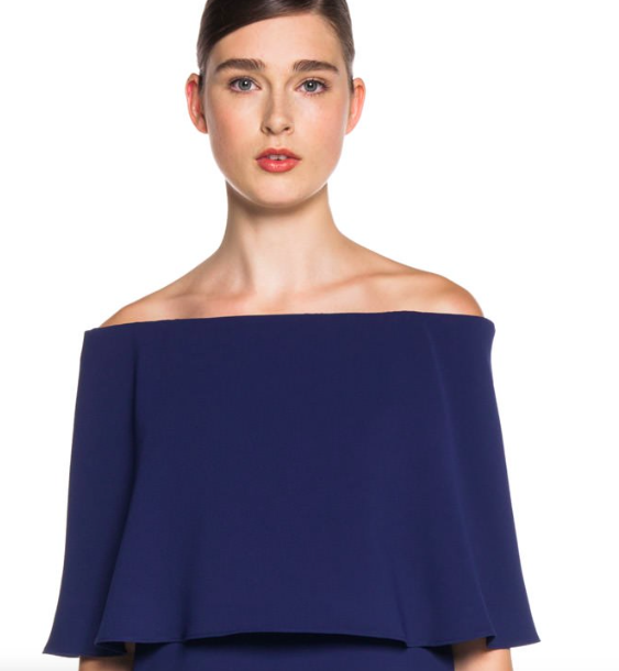Off the shoulder top from Cue.