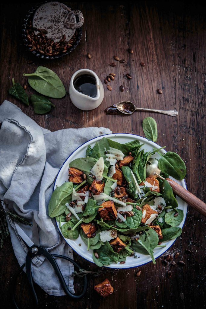 thyme-roasted-pumpkin-and-spinach-salad-with-shaved-manchego-toasted-pepitas-and-balsamic-mustard-dressing-anisa-sabet-the-macadames-19-1