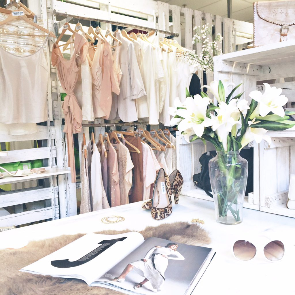 One of Salvo's Street Boutiques