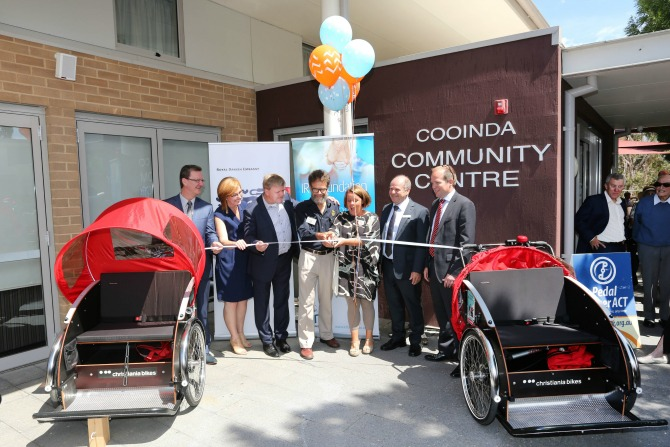 The launch of Cycling Without Age