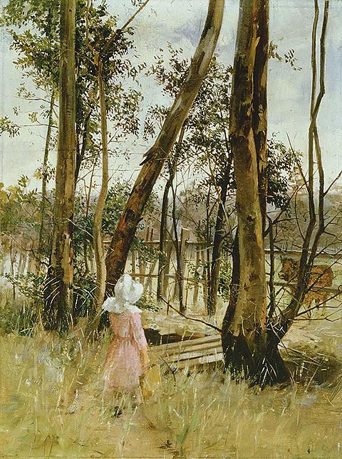 'Obstruction, Box Hill' by Jane Sutherland, Ballarat Fine Art Gallery. Image: wikipedia.org/wiki/Jane_Sutherland