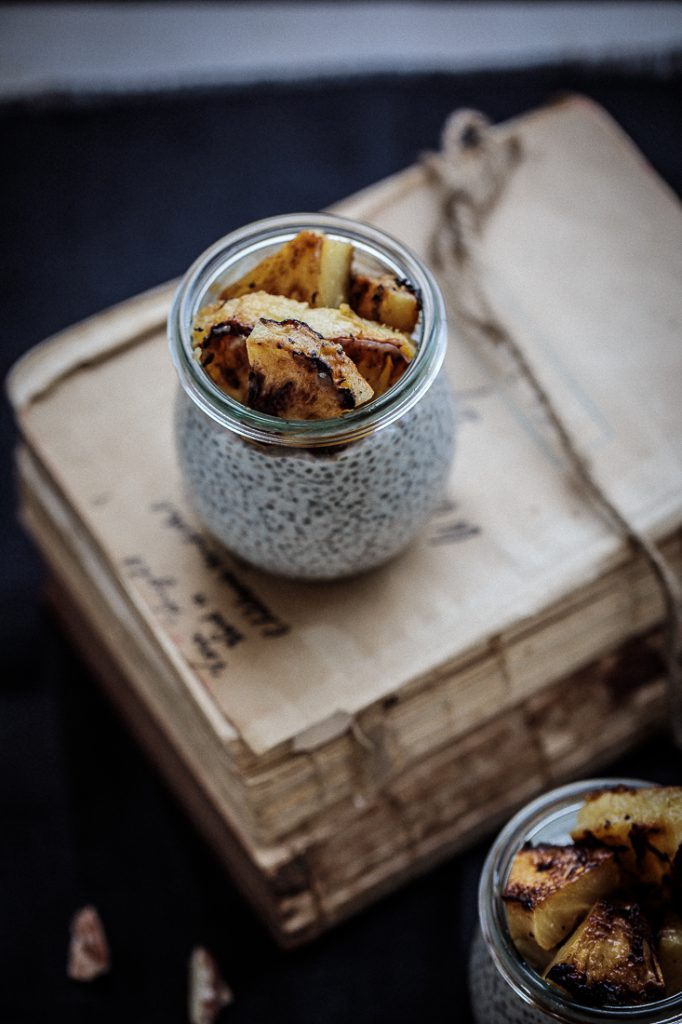 Coconut Chia Pudding With Caramelised Pineapple | Anisa Sabet | The Macadames-2-2