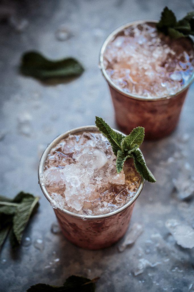 Rhubarb and Bourbon Julep | Anisa Sabet | The Macadames-5-5