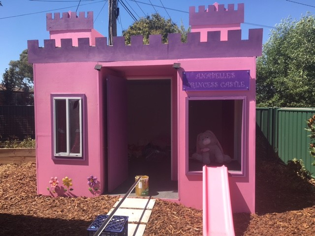 Annabelle's completed Princess Playground