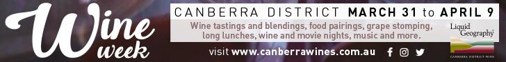 Canberra Wine Week Leaderboard