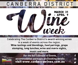 Canberra Wine Week MREC