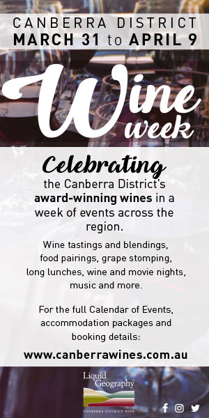 Canberra Wine Week Space