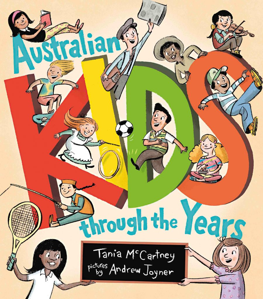 Tania's 'Australian Kids Through the Years'