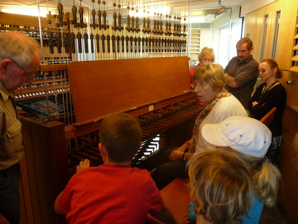 Inside the Carillon