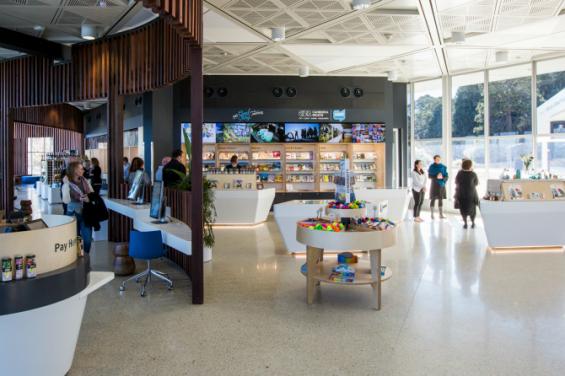 canberra visitors centre