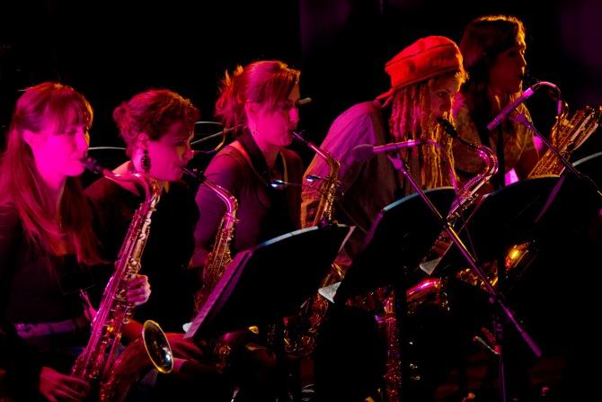 Sirens Big Band. Credit: Pling