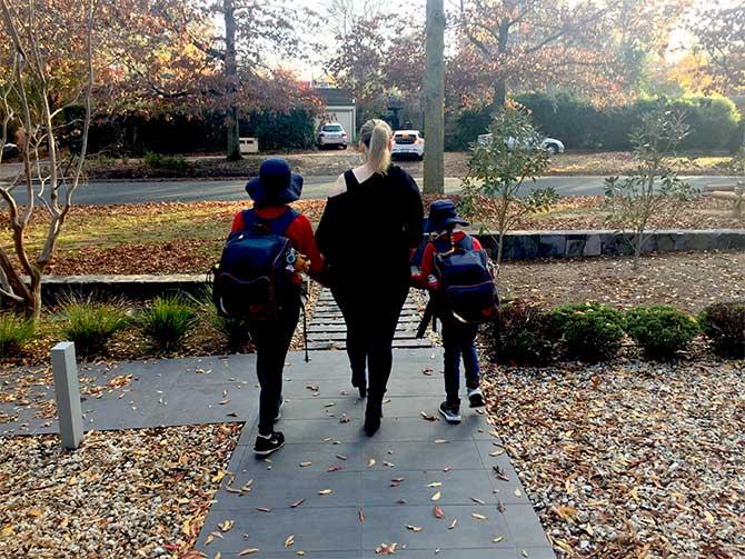 walk-school