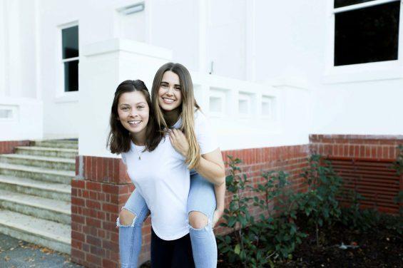 Georgia and Jemma