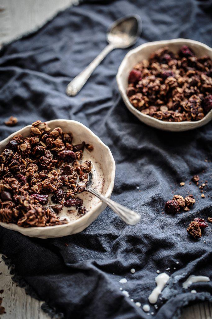 Nutella, Cranberry & Dark Choc Chip Granola | Anisa Sabet | The Macadames-9-6