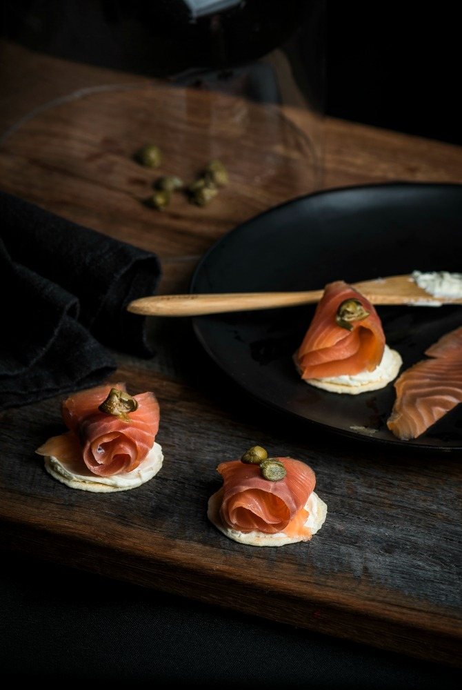 Pialligo Estate smoked salmon is just one of the producer's products to make the journey. Image: Tim Bean Photography.