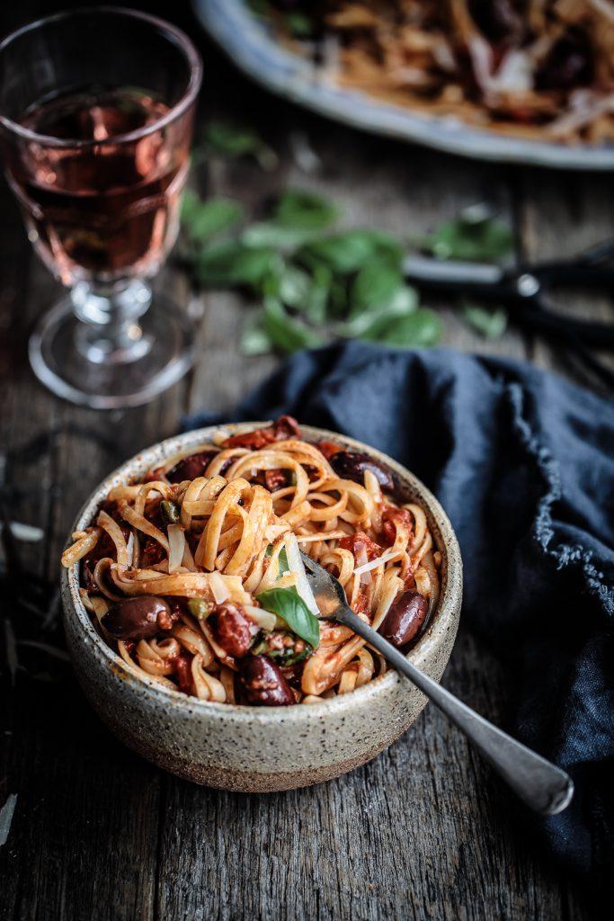 Puttanesca Pasta | Anisa Sabet | The Macadames-5-5