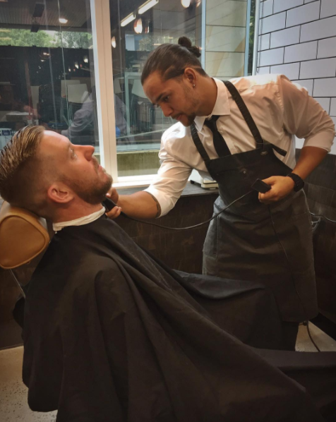 Danny at Barbers Inc Barton