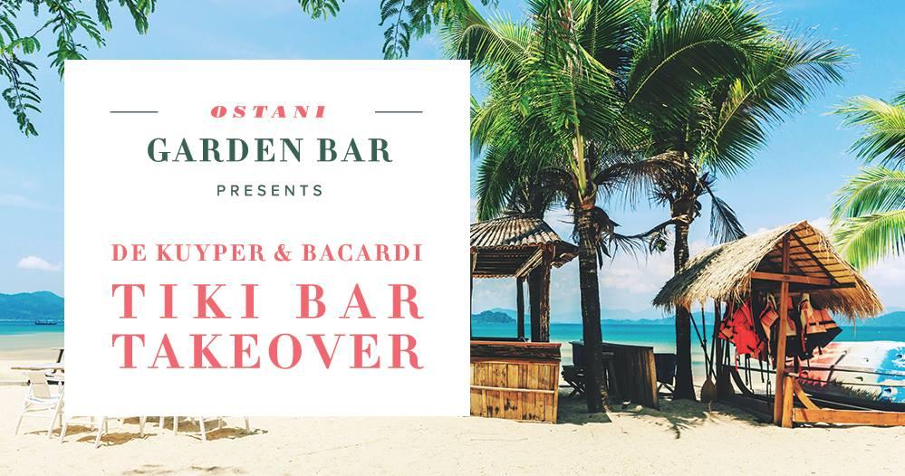Ostani Garden Bar Bacardi Takeover