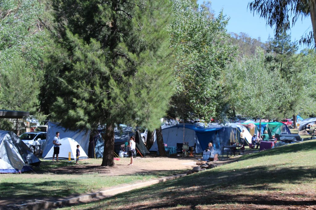 The Cotter campground