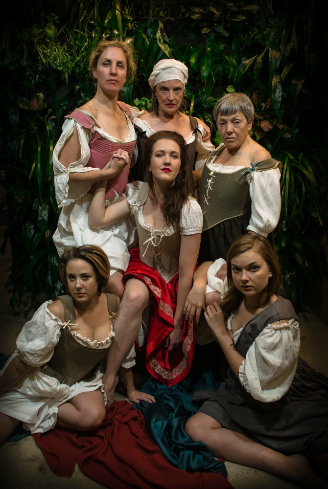 The cast of Playhouse Creatures