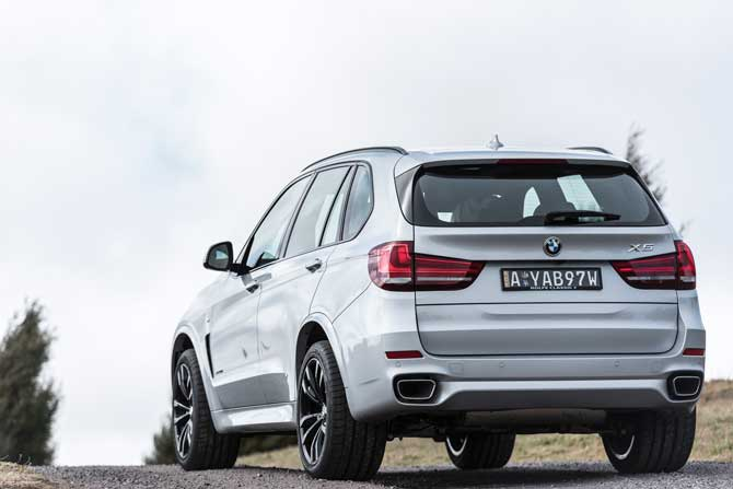 Head slightly further afield in the BMW X5. Image: Tim Bean Photography.