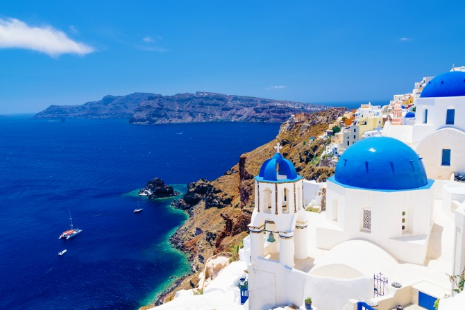 santorini greece greek islands travel_feature