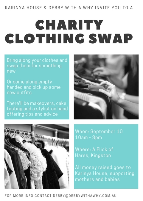 CHArity clothing swap