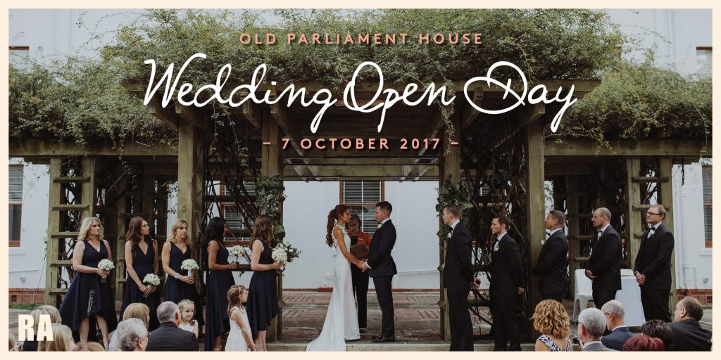 COMP1052. Wedding Open Day At OPH Eventbrite Event Banner V1