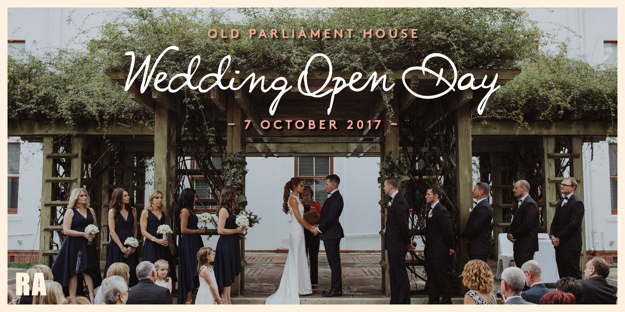 Parliament house wedding