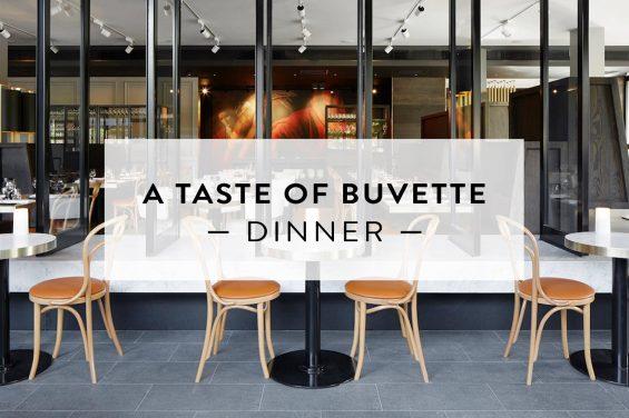 Taste of Buvette