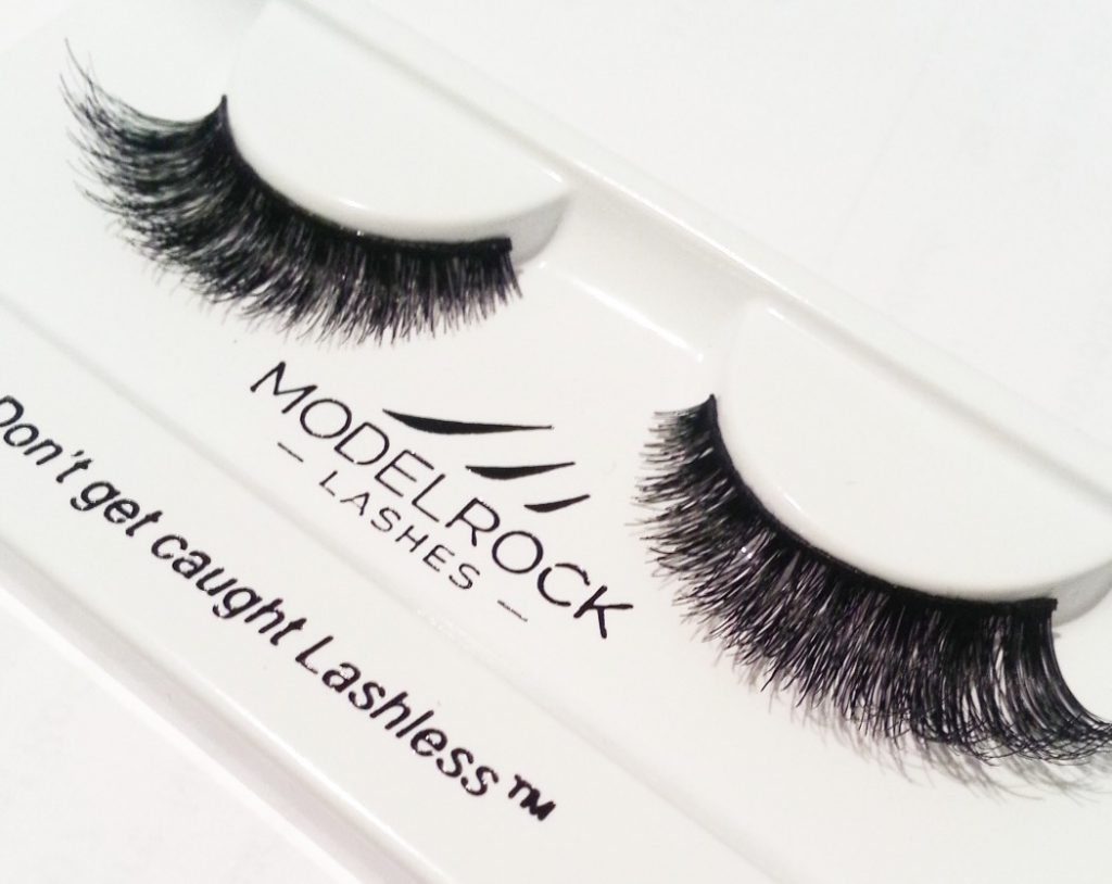 Australian made Model Rock lashes, stocked by Beauty Addict.