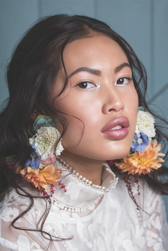 Photo: Peta Rudd for HerCanberra. Earrings by The Floral Society.