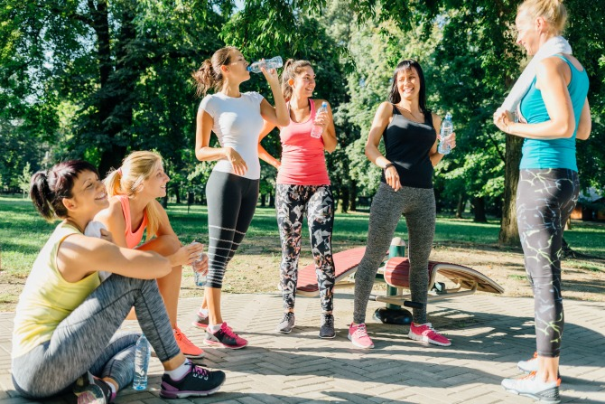 active women fitness feature