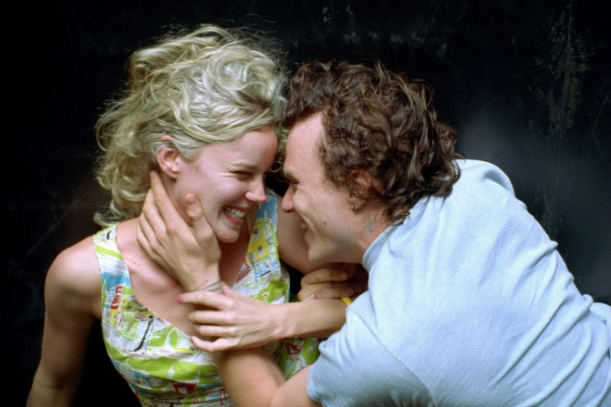 Candy - Abbie Cornish as Candy and Heath Ledger as Dan on the Gravitron by Hugh Hartshorne.