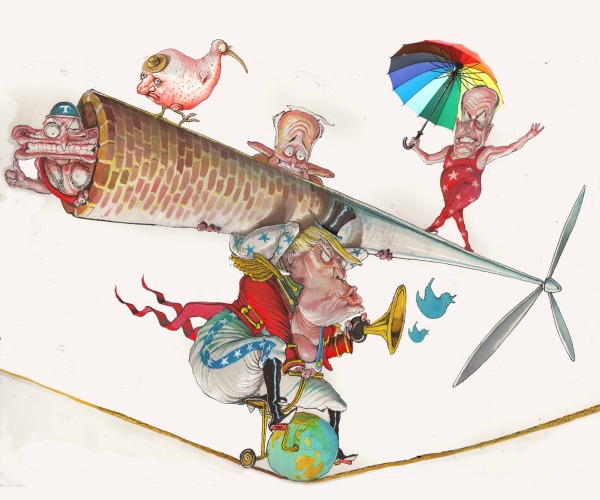 David Rowe - Behind the Lines hero cartoon 2017_feature