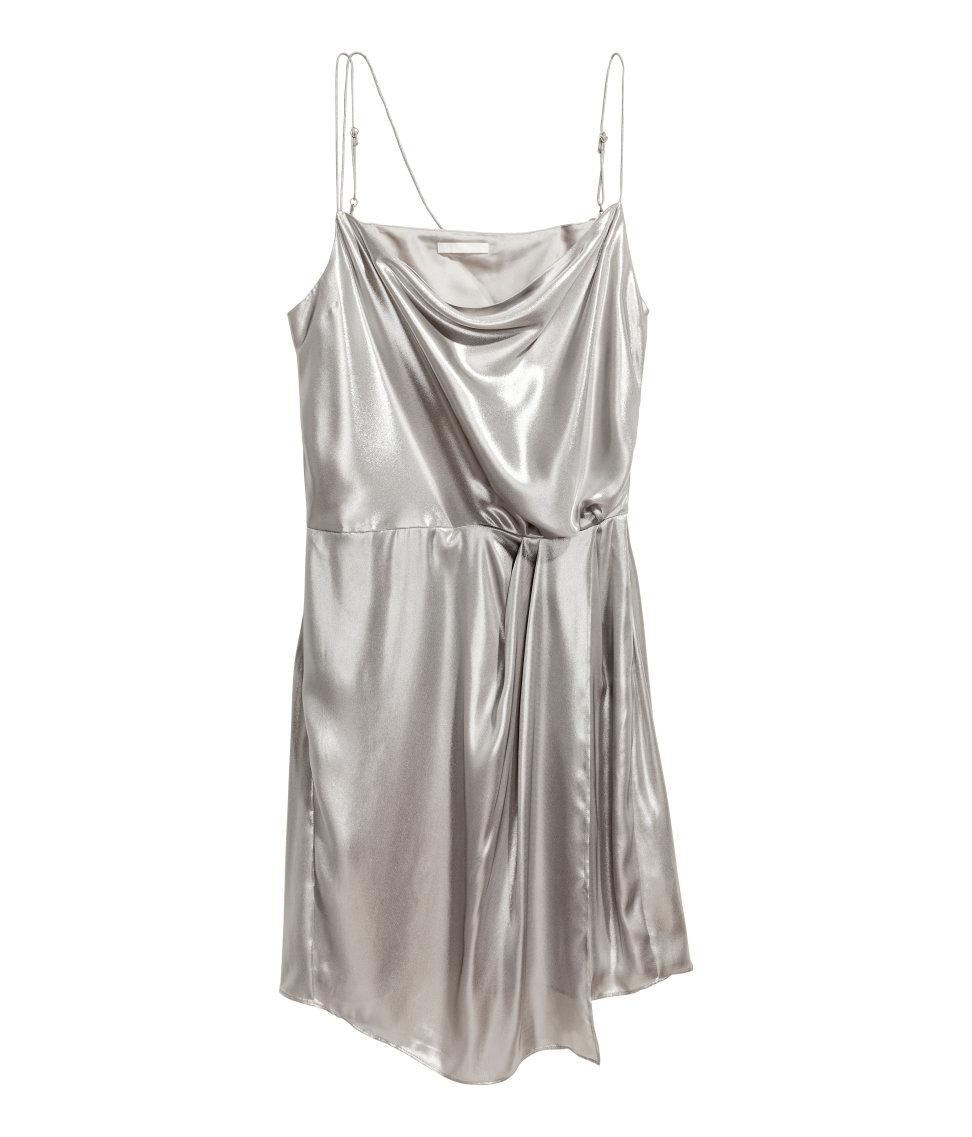 Shimmering metallic dress, $29.99.