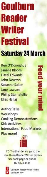 Goulburn Writers Fest Gutters