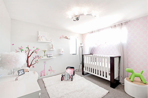 HerCanberra Interiors Series: A little girl's nursery