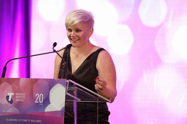 Samantha Kourtis named 2014 Telstra ACT Business Woman of the Year