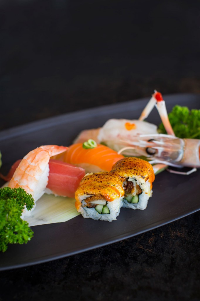 Sushi Bay has an amazing array of freshly made delights.
