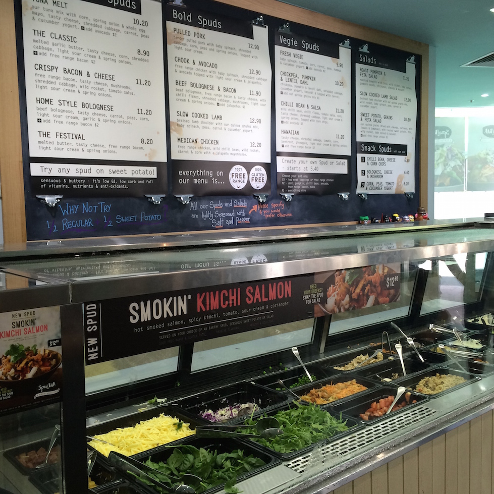 Spud Bar - Garema Place in the City