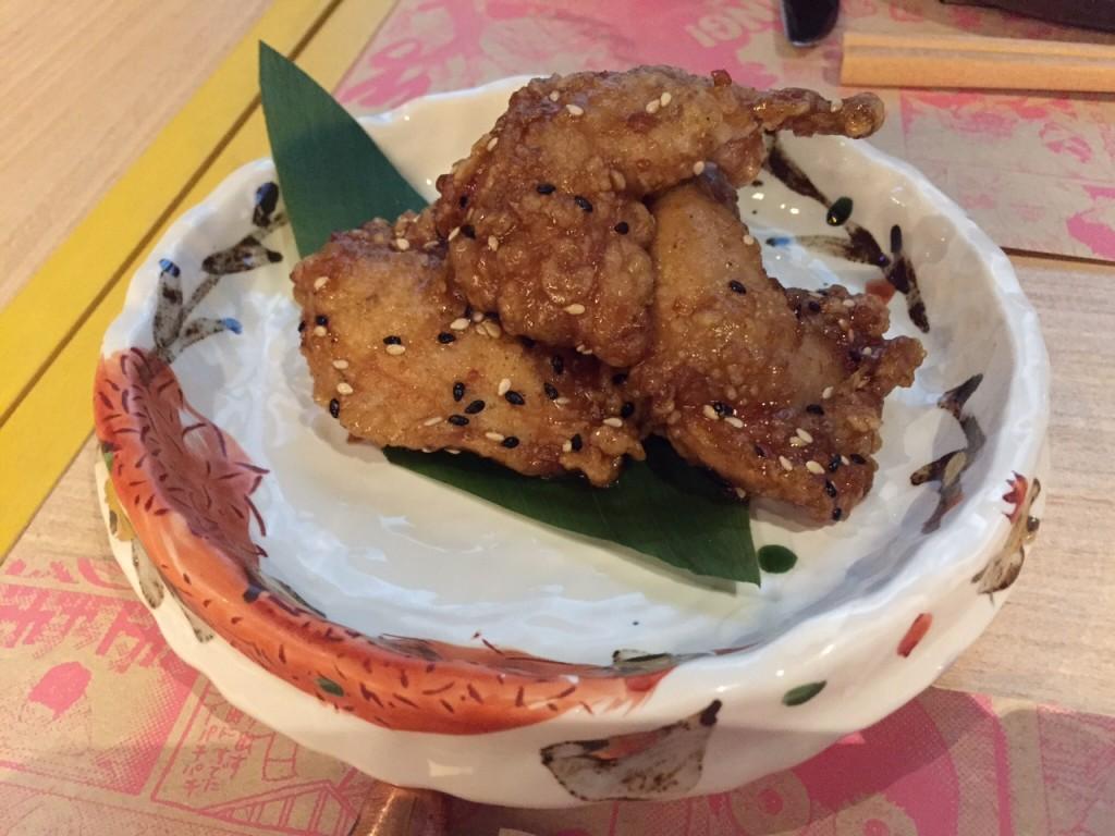 Nagoya-Style Spicy Quail Kara-age w Sweet Sansho Soy