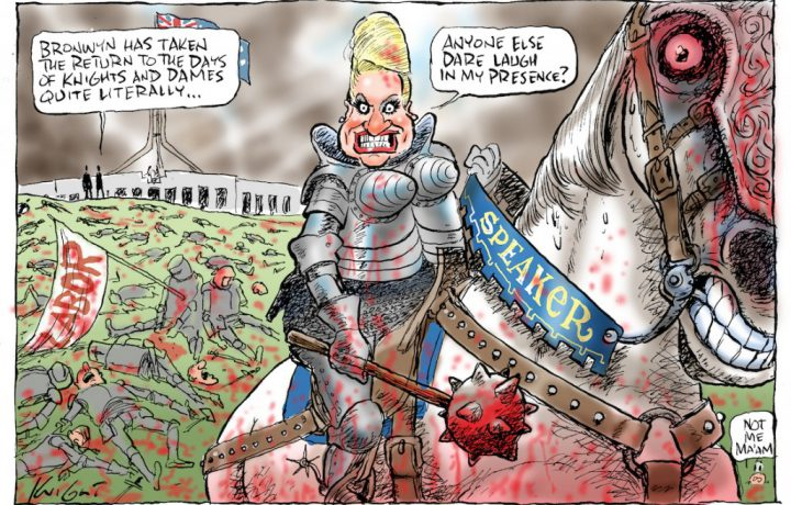Behind the Lines…with political cartoonist Mark Knight