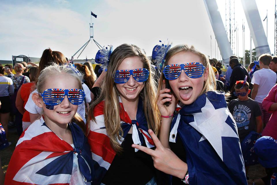The Australia Celebrates Live Concert will be held on the lawns of Parliament House on Sunday 25 January.