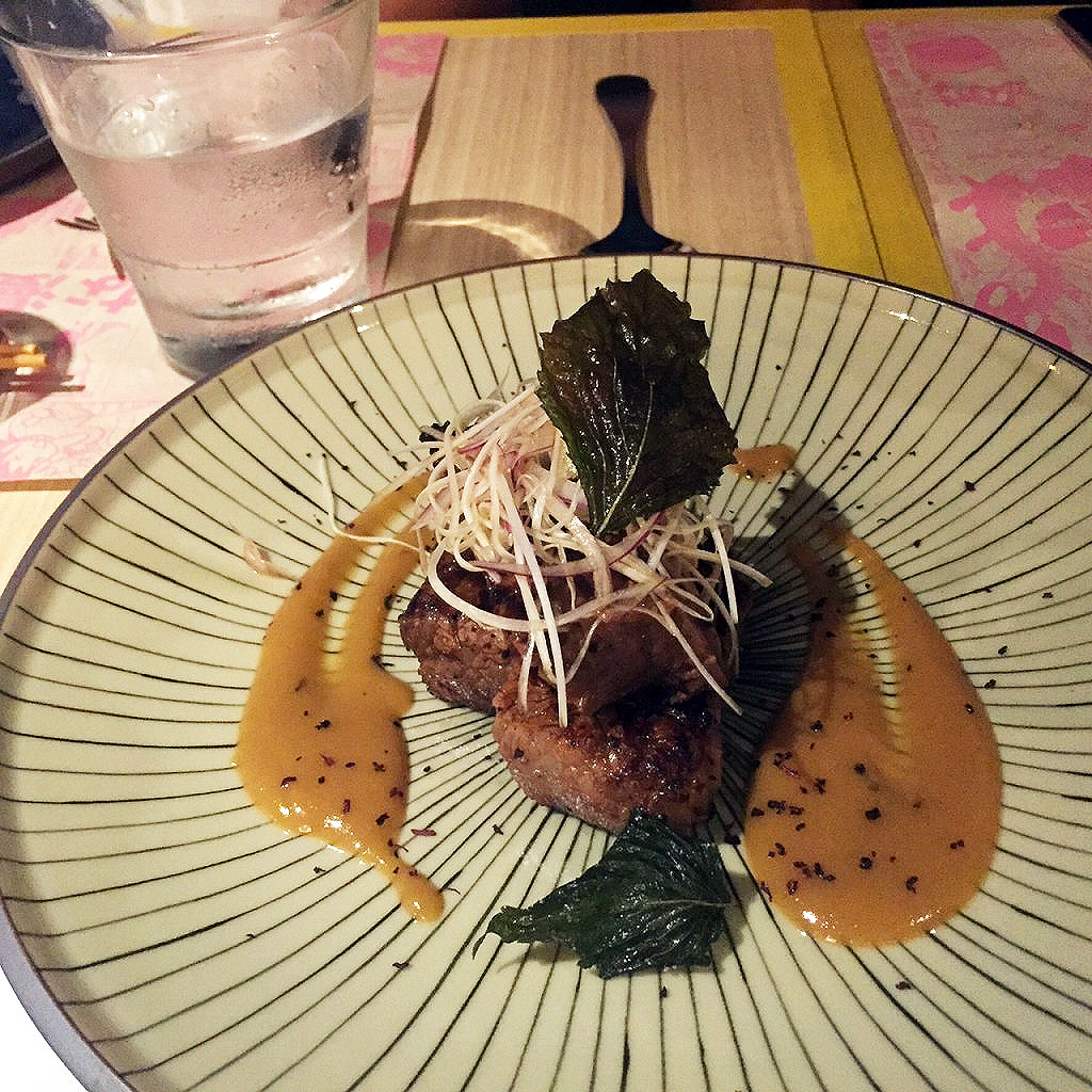 Chargrilled Wagyu Sirloin marinated in Japanese Herb Miso