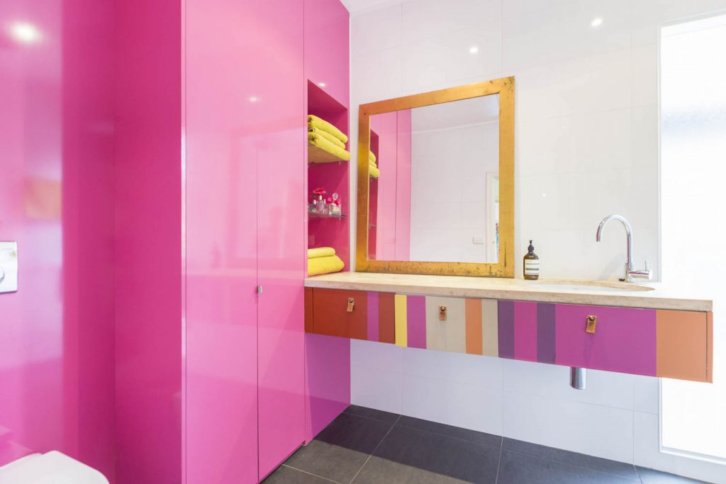 Beautifully bright bathroom